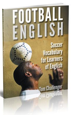 football socer english vocabulary book